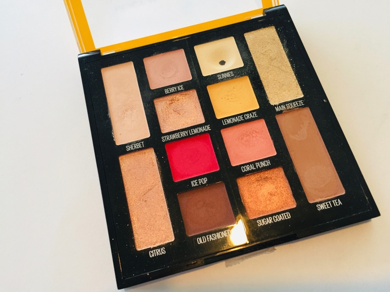 Maybelline Lemonade Craze Palette | Tayler's Edit