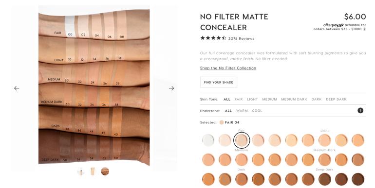 ColourPop: No Filter Concealer Review | Tayler's Edit