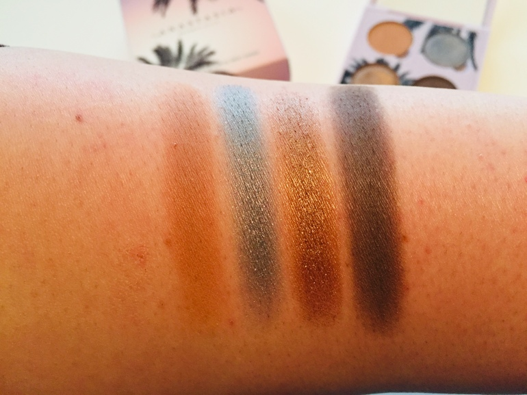 Anastasia Beverly Hills: Sunset Eyeshadow Quad Swatches | Tayler's Edit