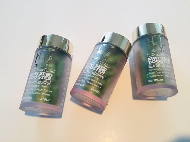 Halo Beauty: Kiwi Seed Booster Review | Tayler's Edit