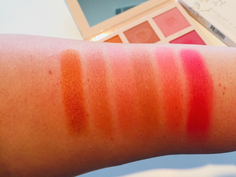 Jouer Cosmetics: Bouquet D'Amour Blush Palette Swatches | Tayler's Edit