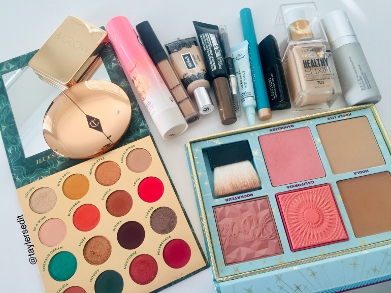 Makeup Flatlay | Tayler's Edit