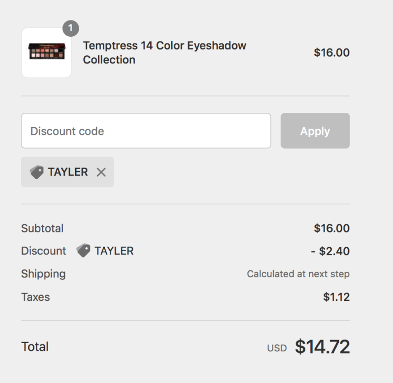 Alter Ego Cosmetics Coupon Code | Tayler's Edit