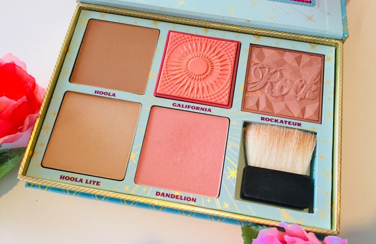 Benefit Cosmetics: Cheek Parade Palette Review | Tayler's Edit