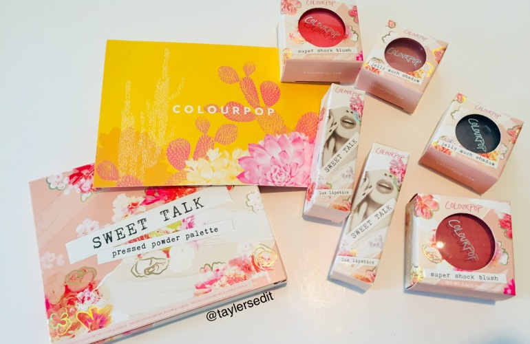 ColourPop Spring Collection Haul | Tayler's Edit