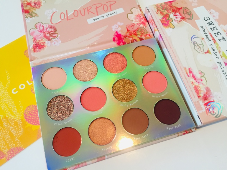ColourPop Sweet Talk Palette | Tayler's Edit