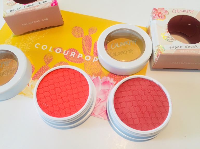 ColourPop Spring Super Shock Blushes | Tayler's Edit