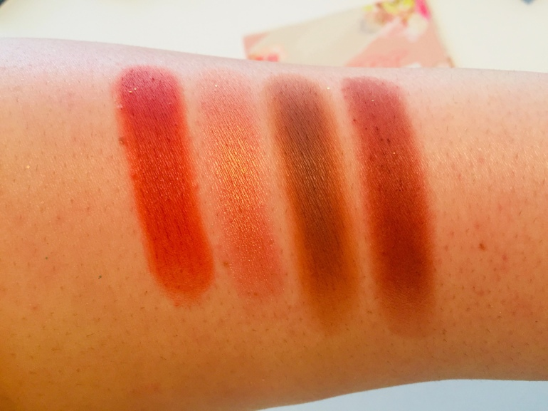 ColourPop Cosmetics: Sweet Talk Shadow Palette Swatches | Tayler's Edit
