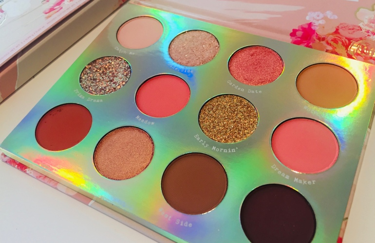 ColourPop Cosmetics: Sweet Talk Shadow Palette Review | Tayler's Edit