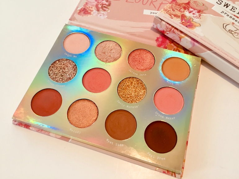 ColourPop Cosmetics: Sweet Talk Shadow Palette Review and Swatches | Tayler's Edit