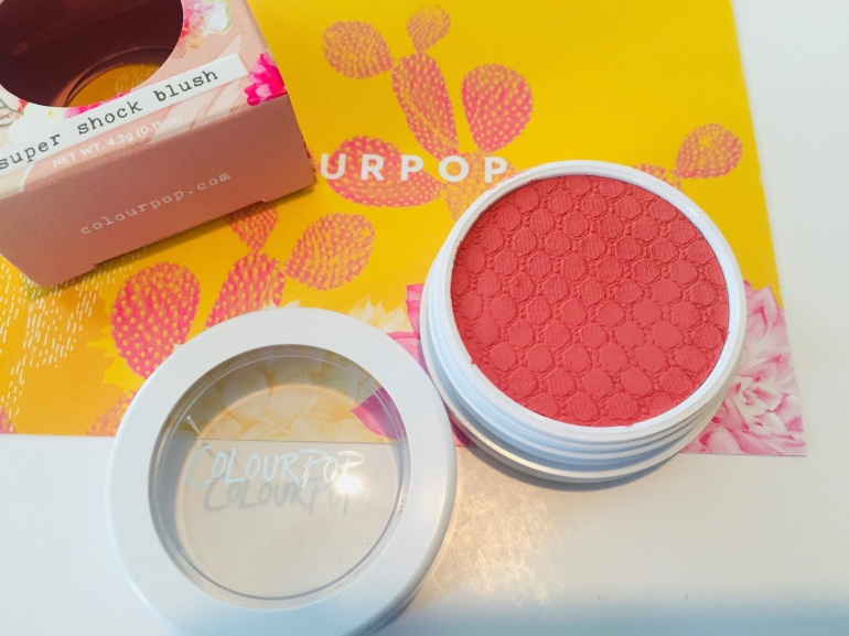 ColourPop Cosmetics: Count Me In Super Shock Cheek Blush Review | Tayler's Edit