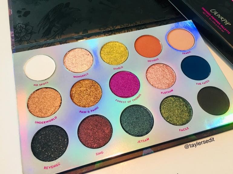 ColourPop x Disney: Misunderstood Eyeshadow Palette Review | Tayler's Edit