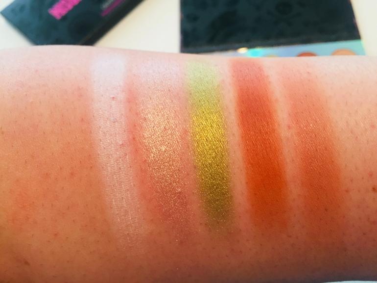 ColourPop x Disney: Misunderstood Eyeshadow Palette Swatches | Tayler's Edit