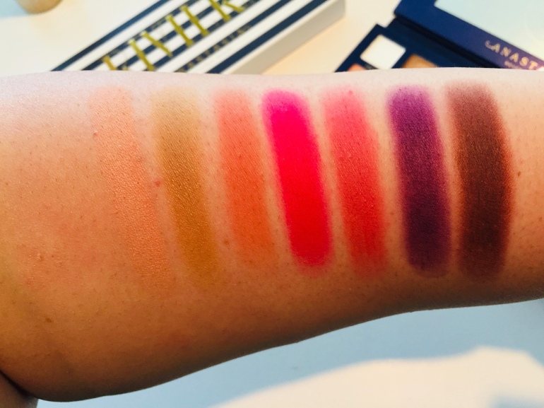 Anastasia Beverly Hills: Riviera Eyeshadow Palette Swatches | Tayler's Edit