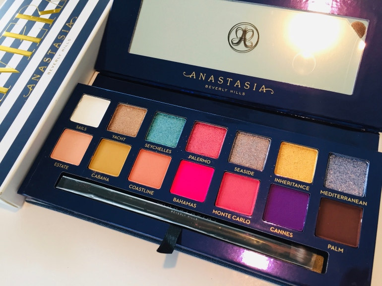 Anastasia Beverly Hills: Riviera Eyeshadow Palette Review | Tayler's Edit
