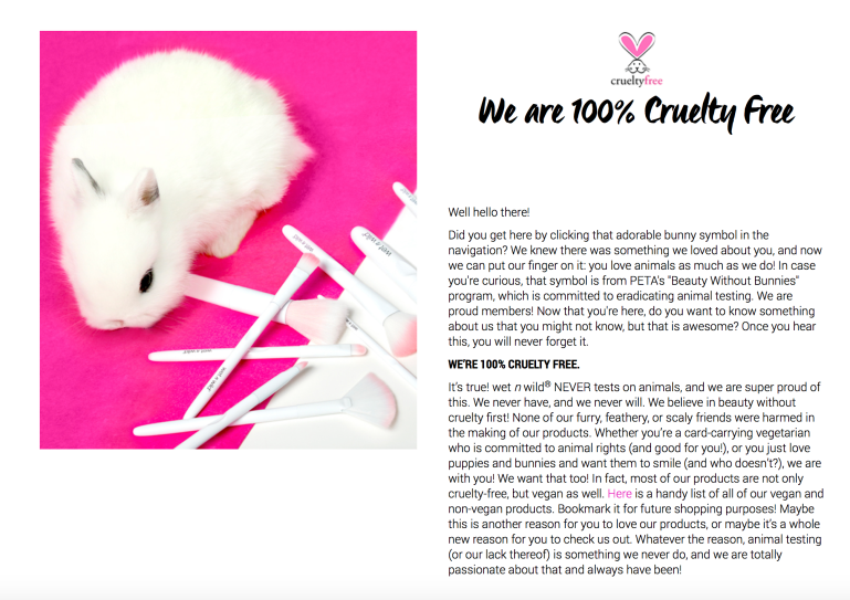 Wet N Wild's Cruelty Free Status | Tayler's Edit