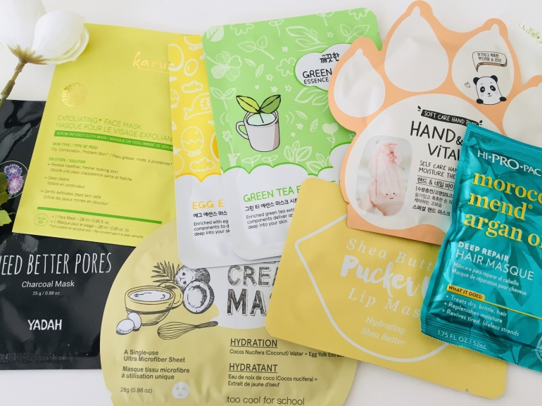 Skin Care Sheet Masks | Tayler's Edit