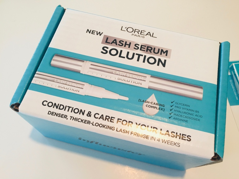 L'Oreal: Lash Serum Solution Review | Tayler's Edit